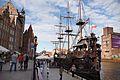 Gdańsk - zabytkowa zabudowa z Żurawiem. Foto Barbara Maliszewska.jpg