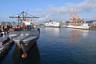 Port of Gdynia - The port of Gdynia, February 2018.