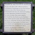 Gedenktafel Alt-Hermsdorf (Herm) Alte Hermsdorfer Dorfkirche.JPG