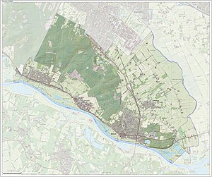 Rhenen - Dutch Topographic map of Rhenen, June 2015