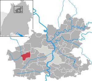 Gemmingen - Image: Gemmingen in HN