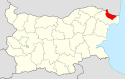 General Toshevo Municipality within Bulgaria and Dobrich Province.