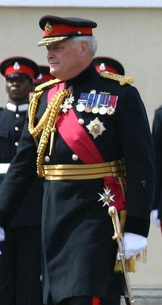 Michael Walker, Baron Walker of Aldringham - Walker at the 2005 Sovereign's Day Parade at the Royal Military Academy, Sandhurst