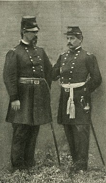 1c3509d946242 Irvin McDowell and George B. McClellan wearing the two most common  regulation kepis of the US Army. The McDowell cap had a crescent shaped  peak