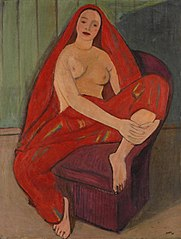 Odalisque rouge