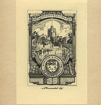 George Wharton Edwards - Image: George Wharton Edwards Bookplate Hampton Free Library