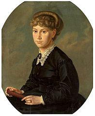 Portrait of Eliza Orzeszkowa.
