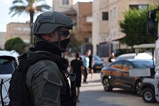 Gilboa Prison break. Israel Border Police, September 2021. II.jpg