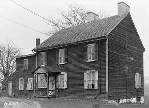 Tavistock, New Jersey - Gill Homestead in 1936