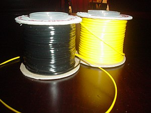 Two spools of gimp.