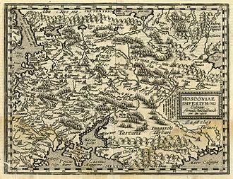 Giovanni Antonio Magini - Image: Giovanni Antonio Magini. Moscoviae Imperivm. 1608