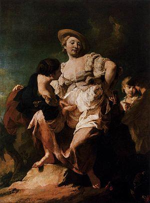 Giovanni Battista Piazzetta - The Soothsayer, Accademia, Venice
