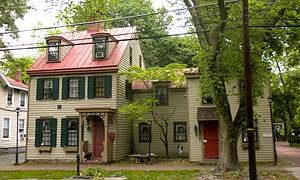 Haddonfield, New Jersey - Githen's Shop c. 1830 in the Haddonfield Historic District.