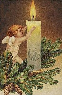 Glædelig Jul, ca 1906.jpg