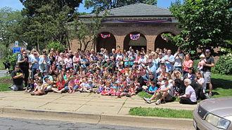 Glencarlyn, Virginia - Glencarlyn Day, 125th anniversary, June 2, 2012