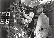 Glenn Enters his Mercury Capsule - GPN-2000-001029