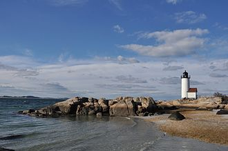 Annisquam Harbor Light - Image: Gloucester MA Annisquam Light 2