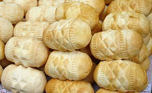 Polish cuisine - Traditional Polish smoked cheese Oscypek