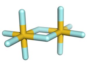 Gold(V) fluoride - Image: Gold pentafluoride