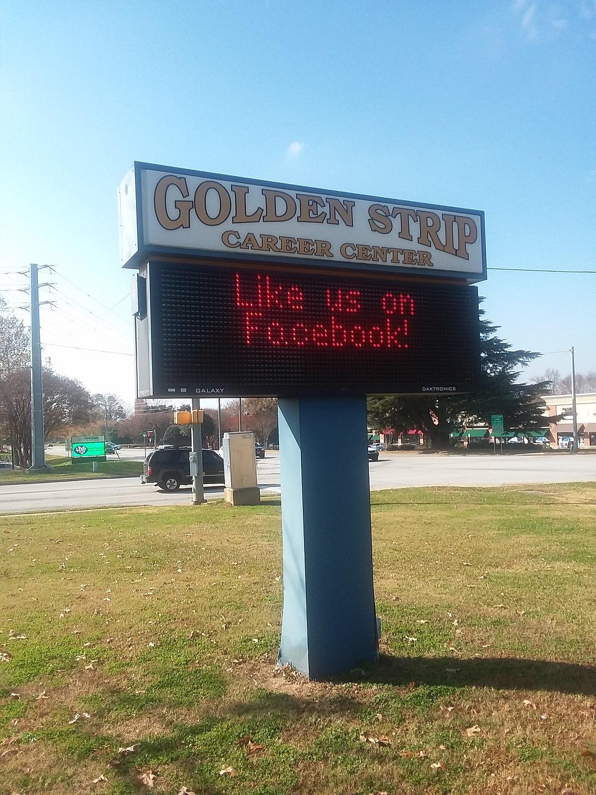 golden strip career center