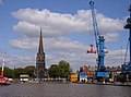 Goole Docks and Church - geograph.org.uk - 356828.jpg