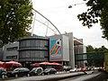 Gottlieb-Daimler-Stadion mit WM-Zeichen.JPG