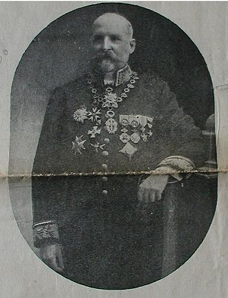 Félix Fuchs - Fuchs, pictured as Governor-General in 1913