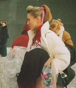 Irina Lobacheva - Lobacheva in 2003.