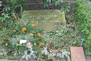 Max Pechstein - Grave of Max Pechstein on the Evangelischer Friedhof Schmargendorf in Berlin