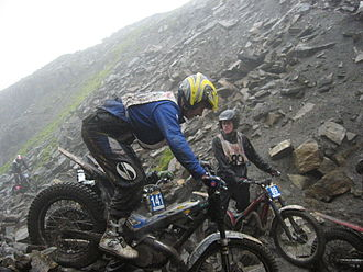 Scott Trial - Image: Graham Jarvis 2009
