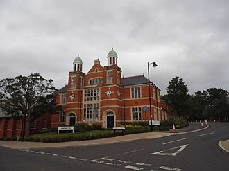 Grainger plc - The Smith Dorrien Building in Aldershot, built in 1908 as an entertainment facility for soldiers and which Grainger now uses as offices for the Wellesley project, a major residential development