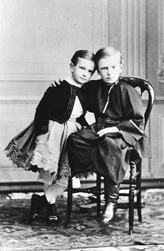 Grand Duke Sergei Alexandrovich of Russia - Grand Duke Sergei with his younger brother Grand Duke Paul