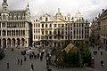 Grand Place - view from the balcony of the Swan house.jpg