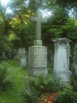 Alexander von Wagner - Grave of Alexander von Wagner in Munich