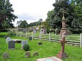 Graveyard and 'Watery Grave ' at St Michael's - geograph.org.uk - 719991.jpg
