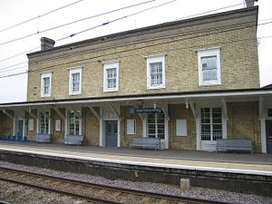 Great Chesterford railway station - The station building