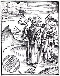 Astrônomos da antiguidade observando o céu.