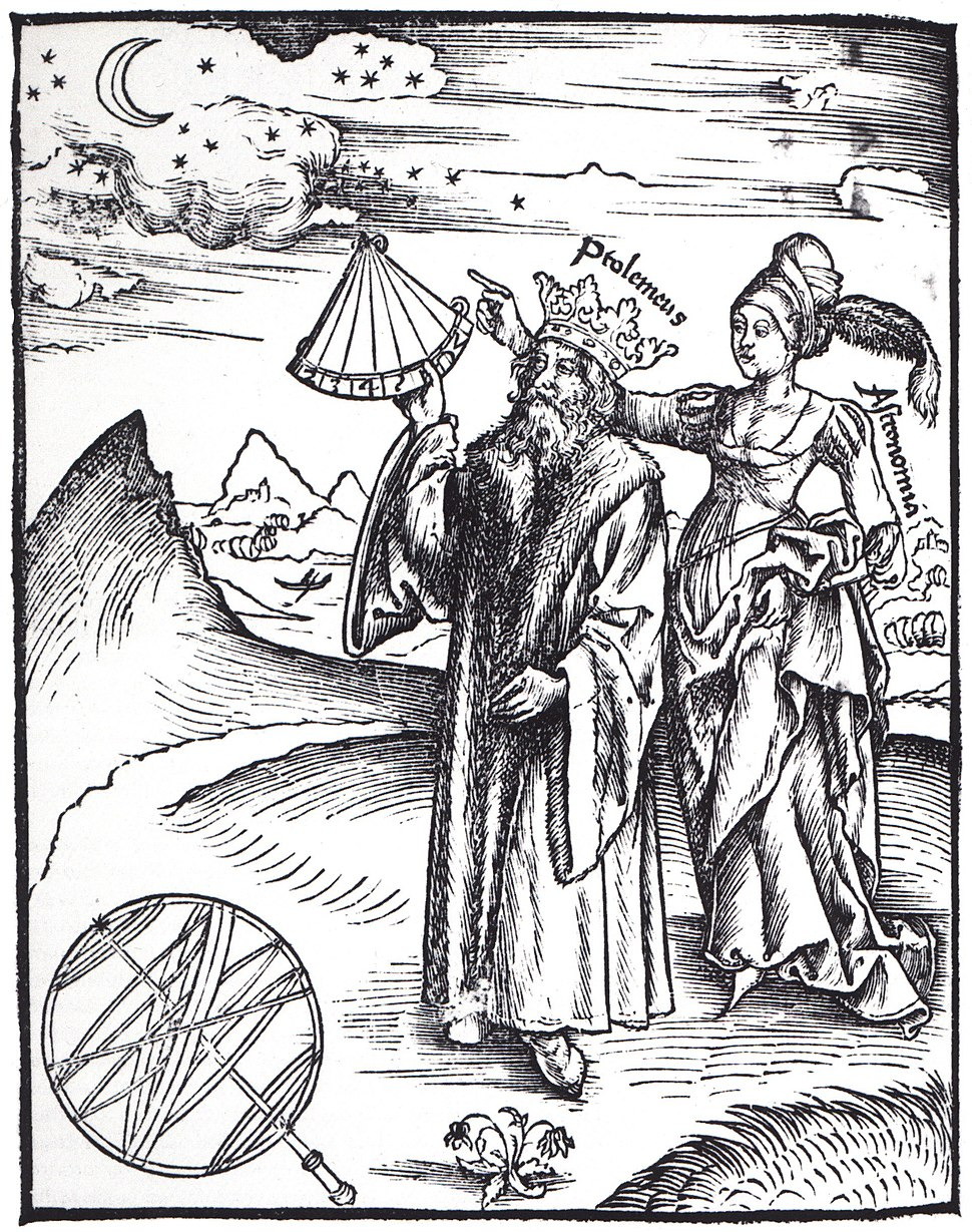Gregor Reisch, Margarita Philosophica, Astronomia