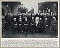Groepsportret met dr. Gisbert Brom (directeur van het Nederlands Historisch Instituut te Rome) bij de viering van zijn 25-jarig priesterjubileum te Utrecht (1911).jpg