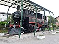 Grosuplje-steam locomotive JZ 51-156.jpg