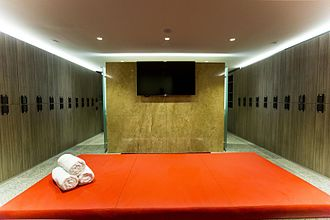 Grosvenor Place (Sydney) - Camerino end-of-trip facilities