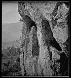 Grotte fortifiée à Albiat sic (Ariège) - 51Fi64 - Fonds Trutat.jpg