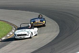 Sportscar Vintage Racing Association - Group 3 racers at Watkins Glen.