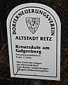 GuentherZ 2011-12-03 0014 Retz Kreuzsaeule am Galgenberg Tafel.jpg