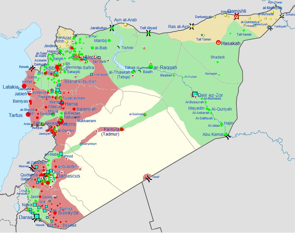 Guerre civile syrienne Mai 2013