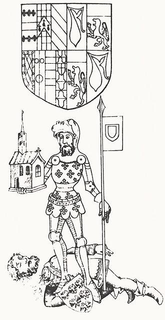 Guy de Beauchamp, 10th Earl of Warwick - Image: Guy de Beauchamp