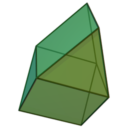 Image illustrative de l'article Gyrobiprisme triangulaire
