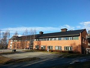 Hønefoss - Image: Høgskolen i Buskerud og Vestfold Hønefoss