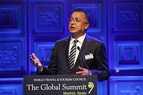 H.E. Lahcen Haddad, Minister of Tourism, Morocco (16538674963).jpg