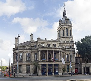 County Borough of West Ham - Image: HE1080991 Old Town Hall Stratford (1)